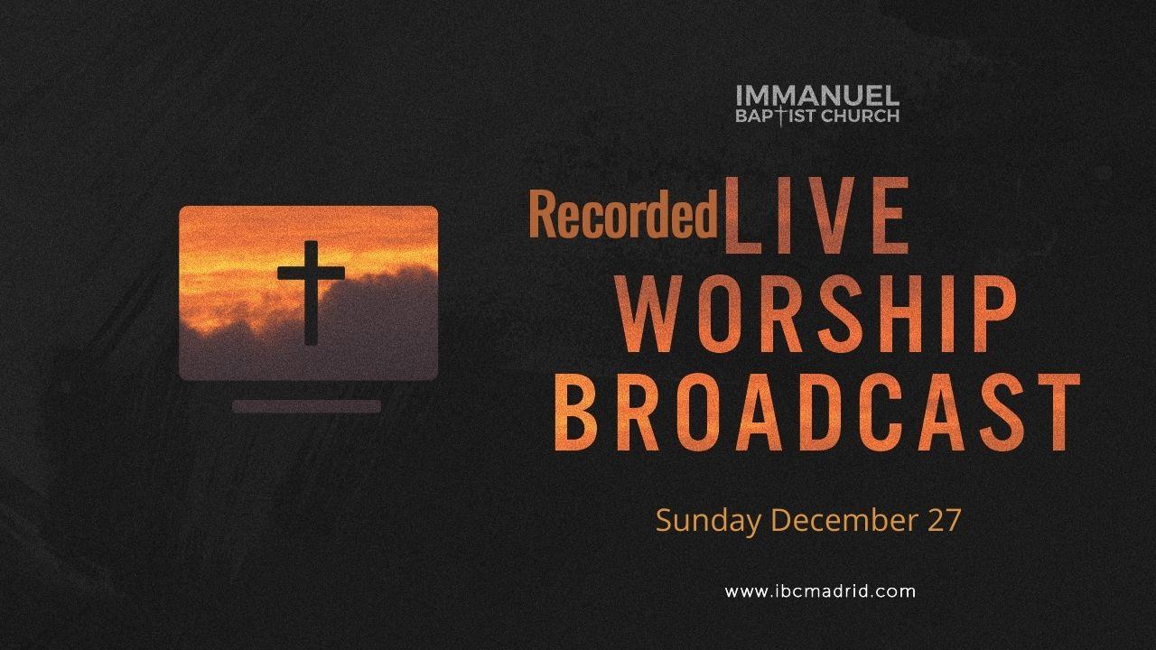 12/27/2020 - Home Worship Image