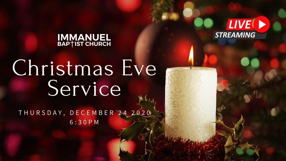12/24/2020 | Christmas Eve Service Image