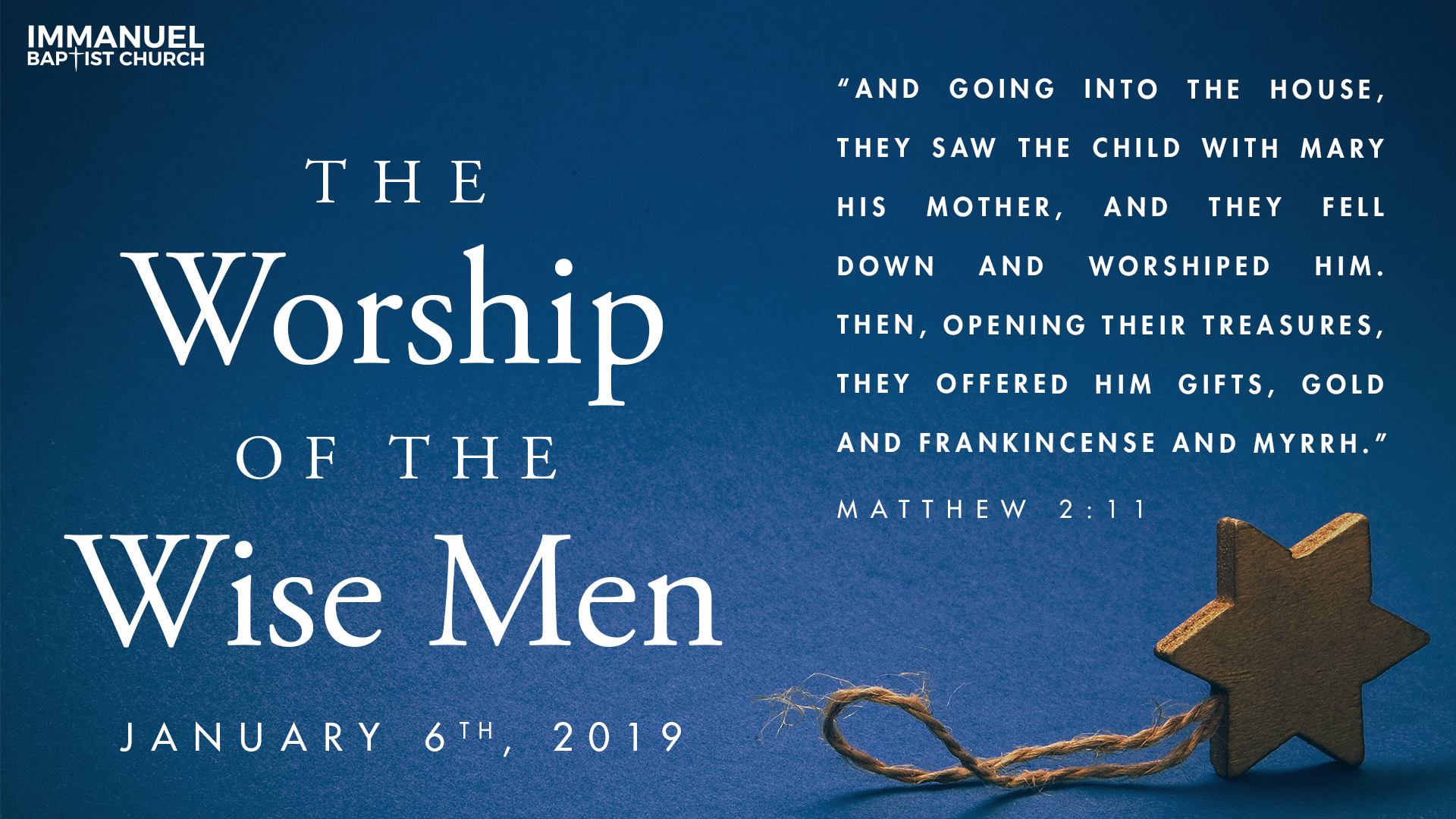 The Worship of the Wise Men Image