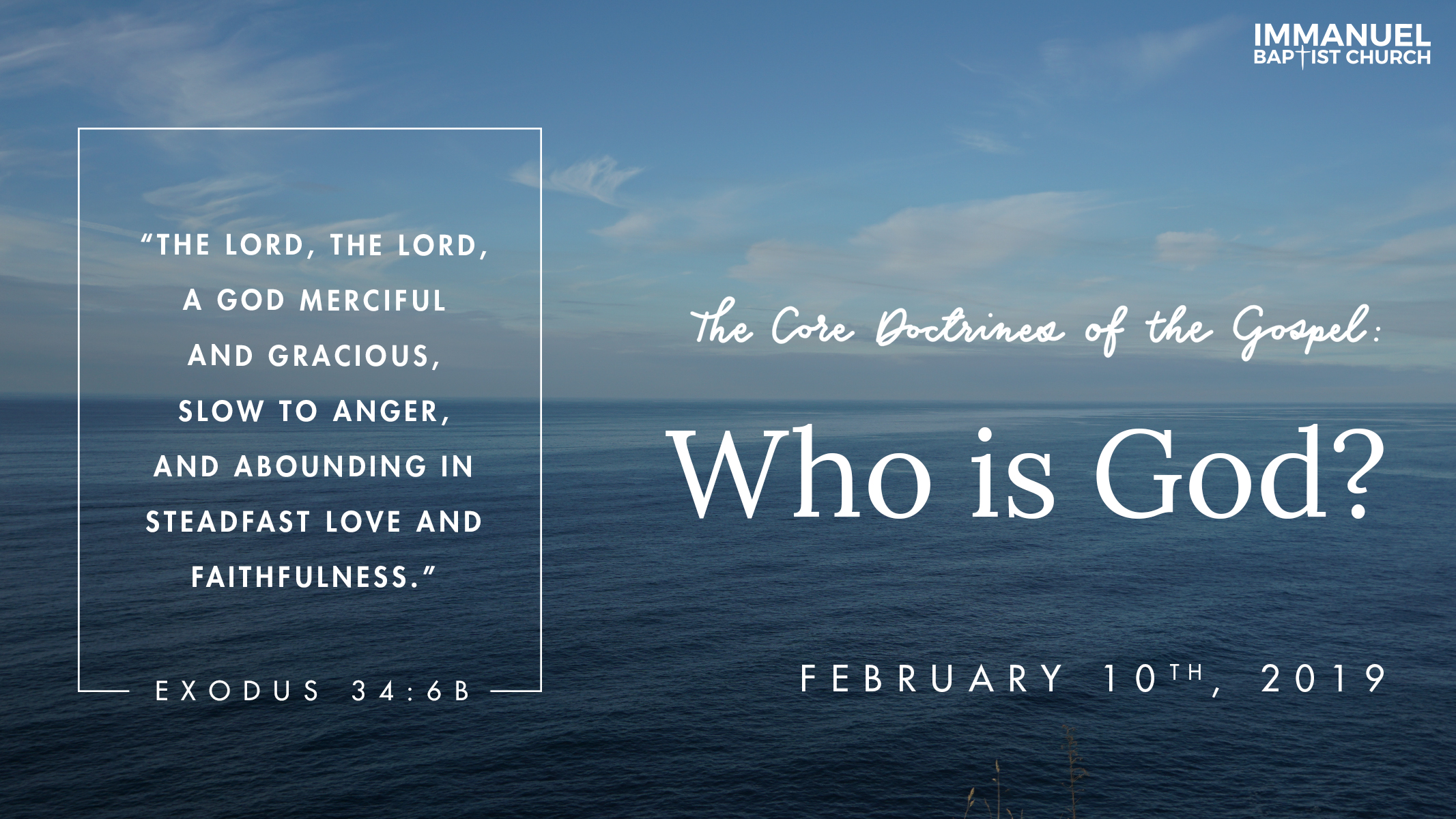 The Core Doctrines of the Gospel (Part 1): Who Is God?