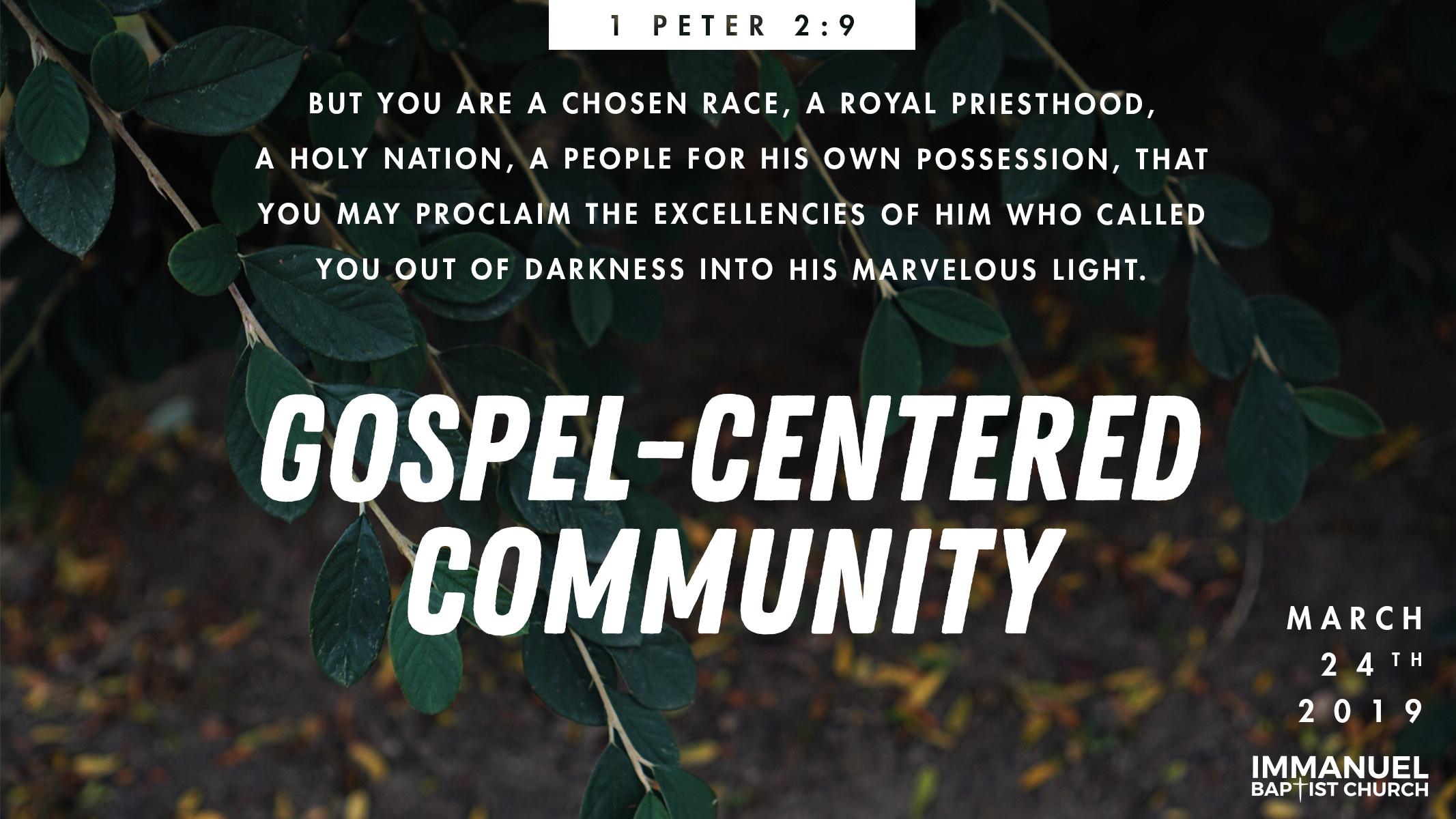 Gospel-Centered Community Image