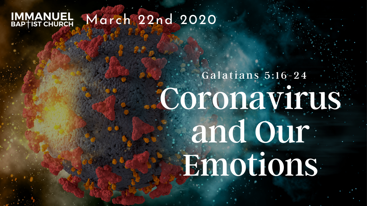 Coronavirus and Our Emotions Image