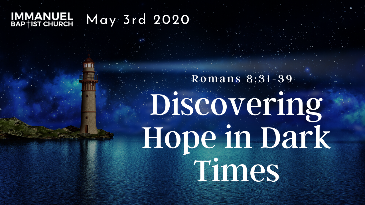 Discovering Hope in Dark Times