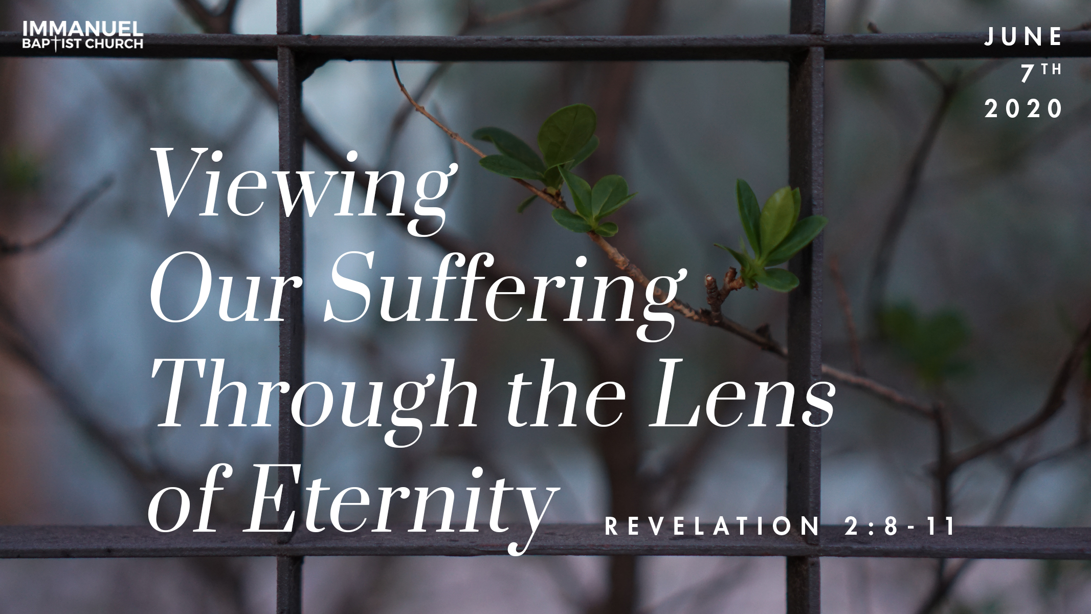 Viewing Our Suffering Through the Lens of Eternity Image