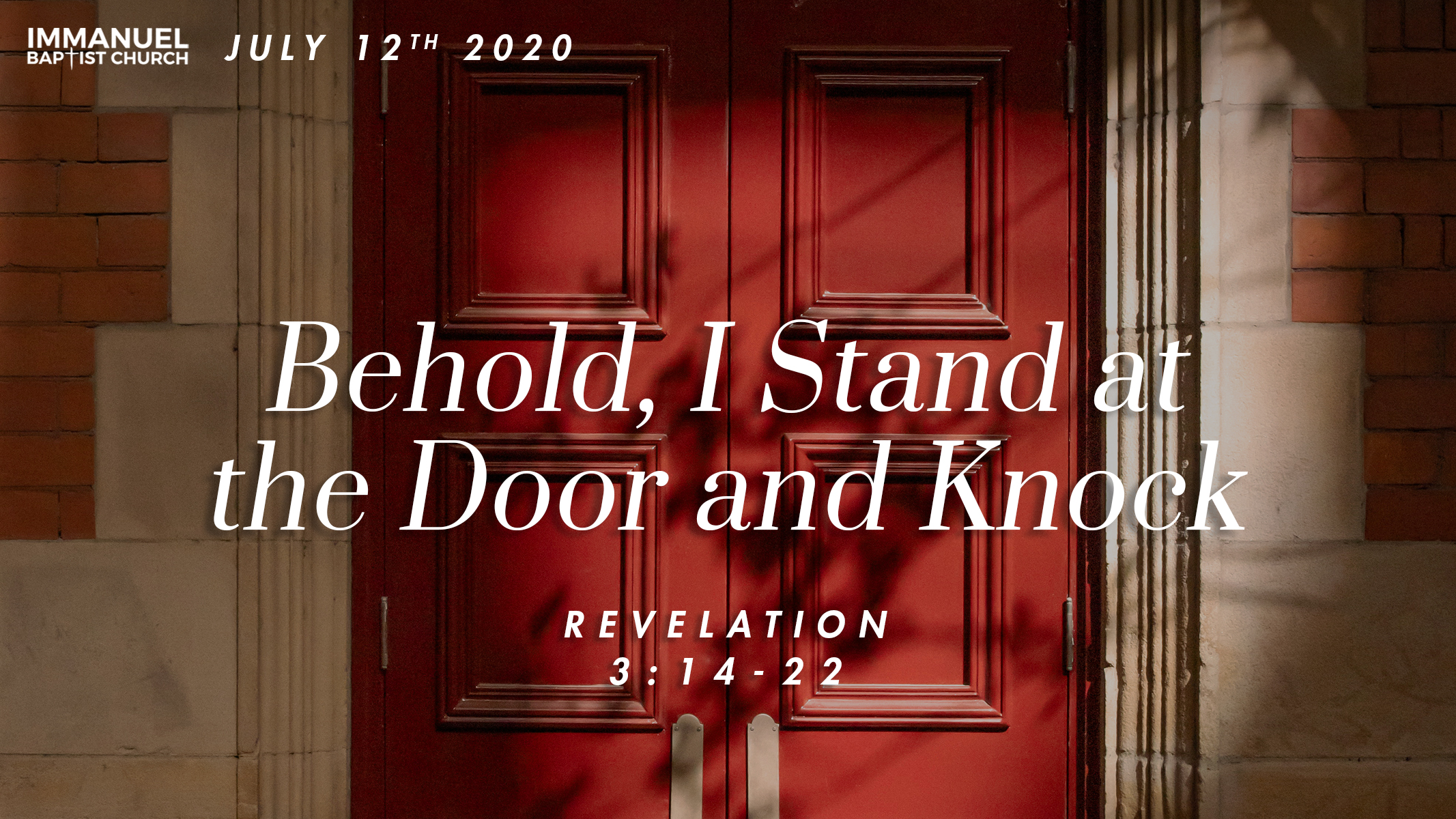 Behold I Stand at the Door and Knock Image