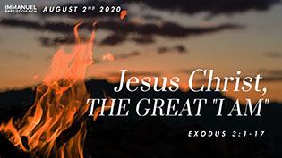 Jesus Christ the Great I Am Image