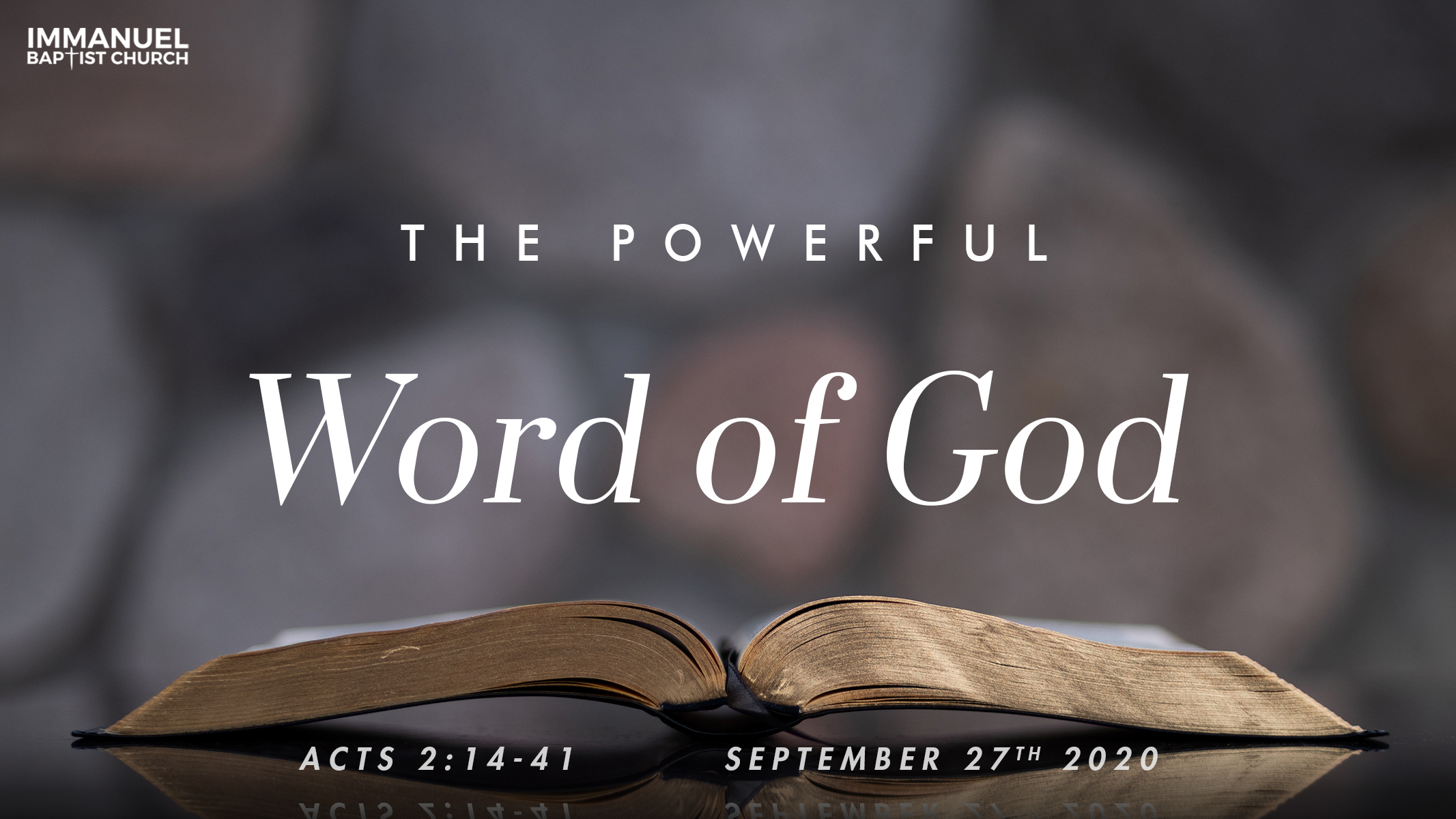 The Powerful Word of God