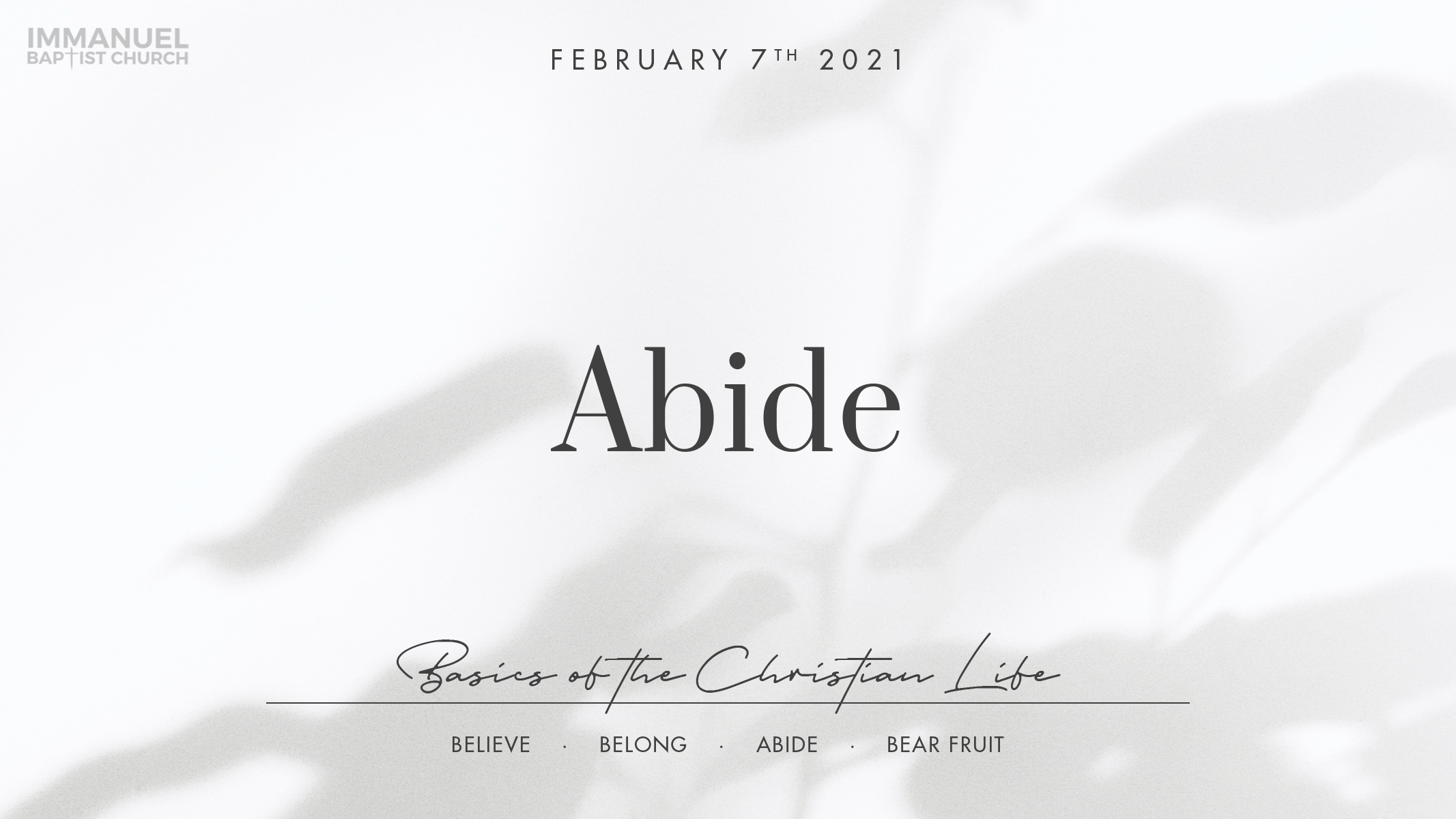 Abide Image
