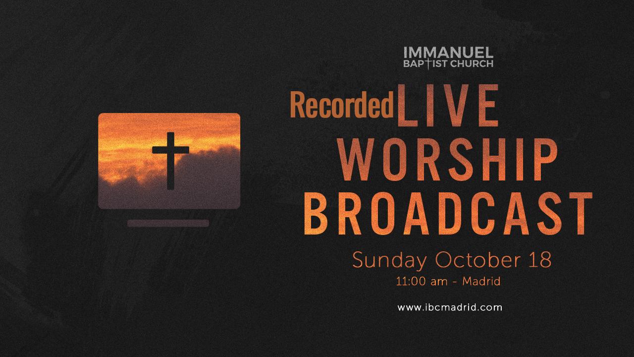 10/18/2020 - Home Worship Image