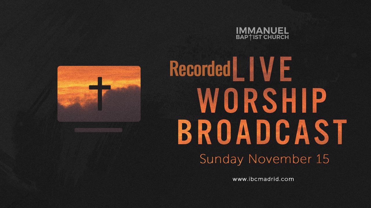 11/15/2020 - Home Worship Image