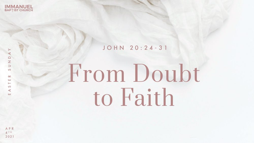 From Doubt to Faith Image
