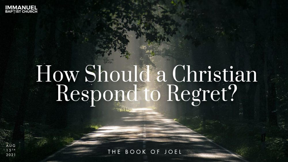 How Should a Christian Respond to Regret? Image